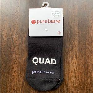 "Pure Barre ""QUAD GOALS"" Sticky Socks"